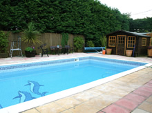Conifers Swimming pool