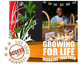 Growing for life - Working Together Logo